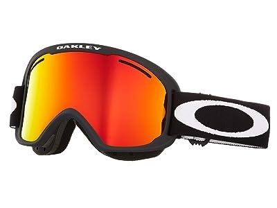 Oakley O Frame 2.0 Pro XM (Matte Black/Fire Iridium/Persimmon) Goggles