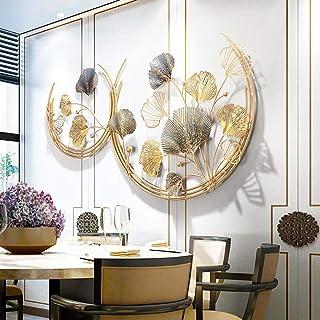HIMFL Contemporaneo Scultura in Metallo per Decorazioni da Parete 49 x 26 Pollici Fatto a Mano Ferro Tridimensionale Art 126 x 67 cm