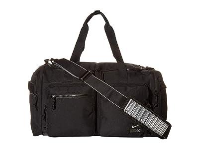 Nike Utility Power Medium Duffel (Black/Black/Enigma Stone) Bags