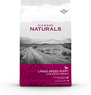Diamond Naturals Premium Large Breed Formulas Dry Dog Food for Adult Dogs and/or Puppies Made with Real Meat Protein, Supe...