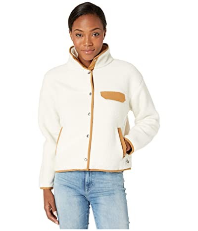 The North Face Cragmont Fleece Jacket (Vintage White/Cedar Brown) Women