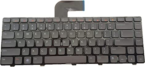 Replacement Keyboard with Backlight Compatible with Dell inspiron N4110 M4110 N4050 M4040 M5040 M5050 N5040 N5050 N4410 M411R / Vostro 3350 3450 3550 V3350 V3450 V3550 / XPS L502X Laptop