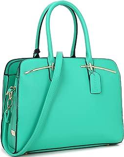 Dasein Women Satchel Handbags Shoulder Purses Totes Top Handle Work Bags With Matching Wallet