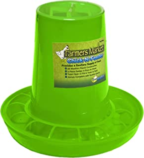 Ware Manufacturing 15025 Chick-N Bird Feeder-1.25 lbs Capacity, Small, Green