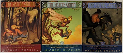 The Sisters Grimm 3 Book Set, Vol 1-3: The Fairy Tale Detectives, The Unusual Suspects, The Problem Child