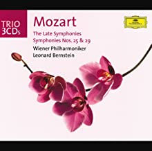 Mozart: The Late Symphonies; Symphonies Nos.25 & 29