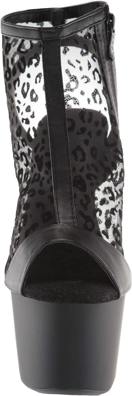 Ellie Shoes Womens Peeptoe Bootie Fashion Boot