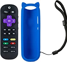 Remote Control for Xbox One, Xbox One S, Xbox One X Standard IR Xbox Media Remote with A,B,X,Y Buttons and 7 Learning Buttons to Control Roku Player,TV, Soundbar, Receiver with Blue Case