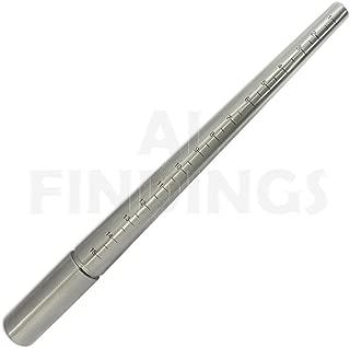 Jewellers Tools Ringgr/ö/ßenstab 1-15 und Ringdorn aus Stahl