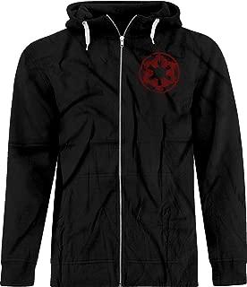 BSW Men's Star Wars Imperial Crest Empire Logo Sith Lord Premium Zip Hoodie
