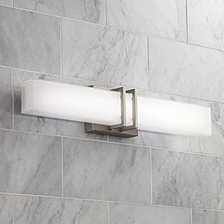 Exeter Modern Wall Light LED Brushed Nickel 24