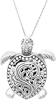 sea turtle jewelry sterling silver