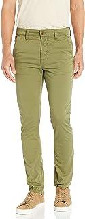 Nudie Unisex Slim Adam Green Casual Pants