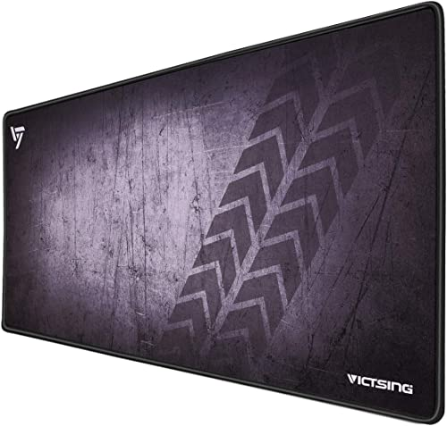 VicTsing [30% Larger] Extended Gaming Mouse Pad with Stitched Edges, Long XXL Mousepad (31.5x15.7In), Desk Pad Keyboa...