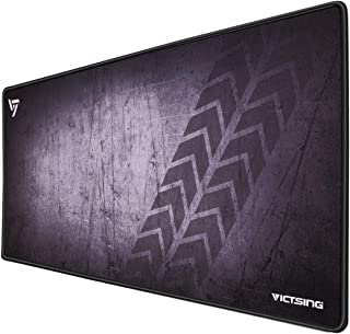 VicTsing [30% Larger] Extended Gaming Mouse Pad with Stitched Edges, Long XXL Mousepad (31.5x15.7In), Desk Pad Keyboard Ma...