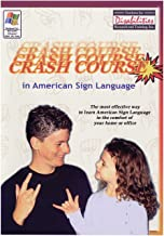 Crash Course in American Sign Language -CD-ROM Deaf - Education