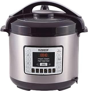 NuWave Nutri-Pot 8 Quart Digital Pressure Cooker,gray/black,8 qt.