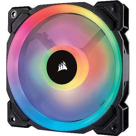 Corsair LL Series LL120 RGB 120mm Dual Light Loop RGB LED PWM Fan Single Pack (CO-9050071-WW)