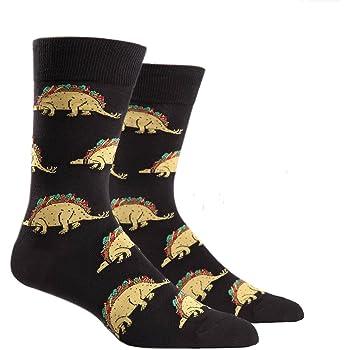 Sock It to Me, Mens Crew, Dinosaur