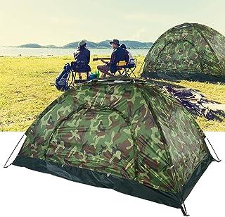 UV-tält, 2-personstält UV-skyddstält med pennor och pinnar för vandring för stranden för camping