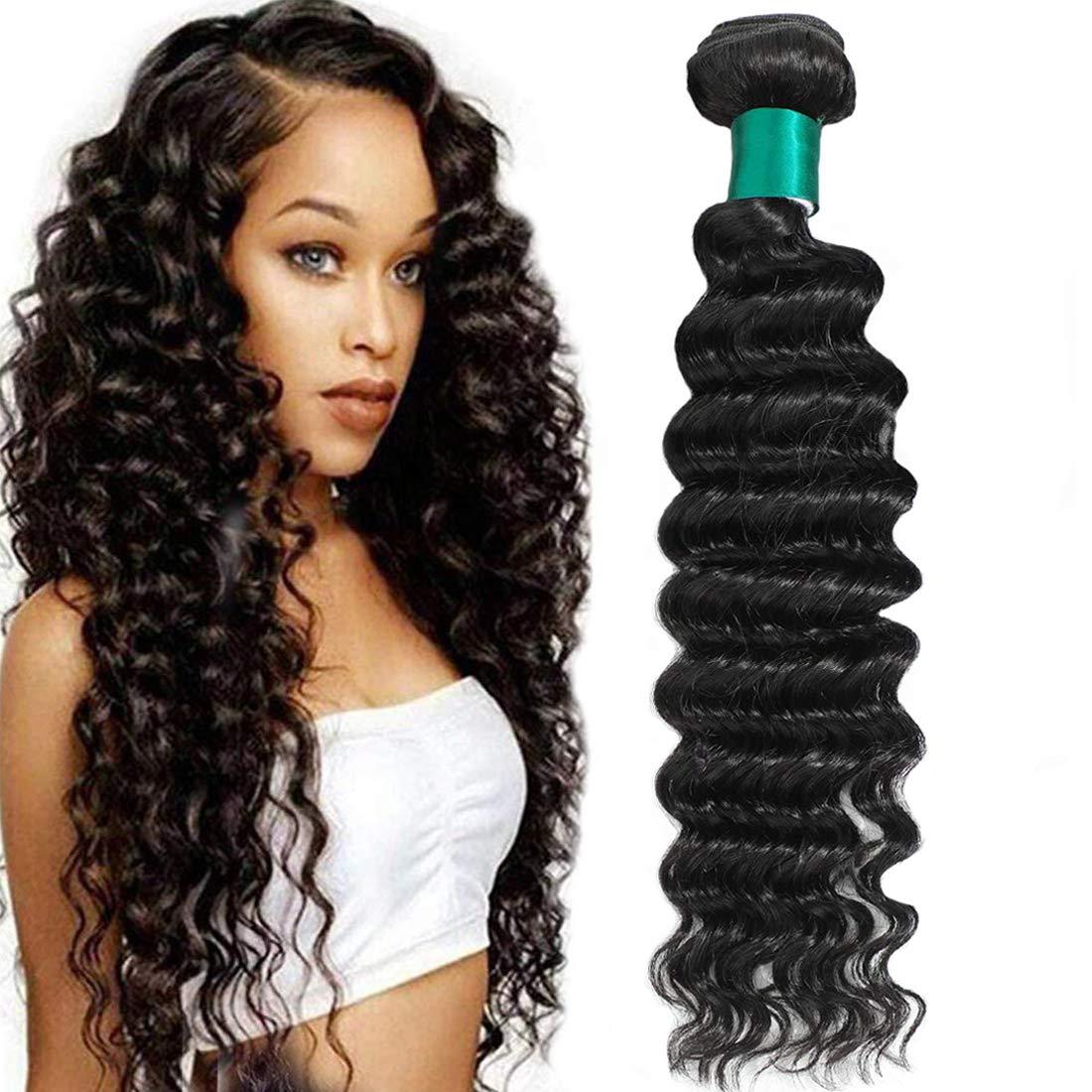 Lizourey All Popular popular items free shipping Hair Brazilian Virgin Human One Bun Deep Wave