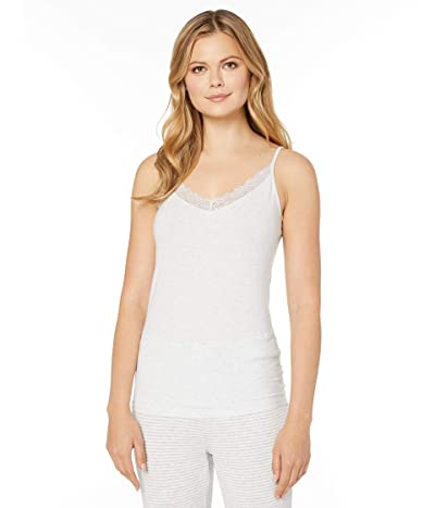 Hanro Cotton Lace Camisole (Ceramic Melange) Women