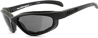 HELLY - No.1 Bikereyes   Bikerbrille, Motorradbrille, Motorrad Sonnenbrille   winddicht, gepolstert, beschlagfrei, bruchsicher   TOP Tragegefühl bei langen Ausfahrten   Brille: thunder 2