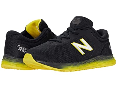 New Balance Kids Fresh Foam Arishi v2 Bungee (Infant/Toddler) (Black/Atomic Yellow) Boy