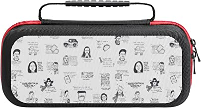 $26 » Gilmore Girls Quotes Case Compatible with Switch Case Protective Carry Bag Hard Shell Storage Bag Portable Travel Case for...