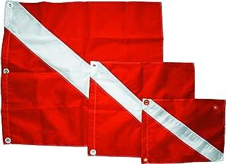 Innovative Scuba Nylon Diver Down Scuba Diving Flag With 420 Denier Nylon,  Sold Brass Grommets ,  FL0411