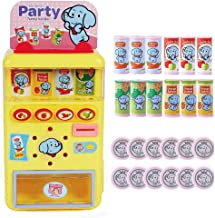 PUSITI Vending Machine Toys Drinks Machines Toys Education Learning Toys Shopping Game Toys for Boys and Girls Play House Toys Birthday Gift for Kids Age 3 4 5 6 Years and Up
