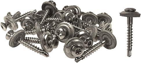 Spenglerschroeven met boorpunt 4,5 x 25 mm - 200 stuks Torx roestvrij staal A2