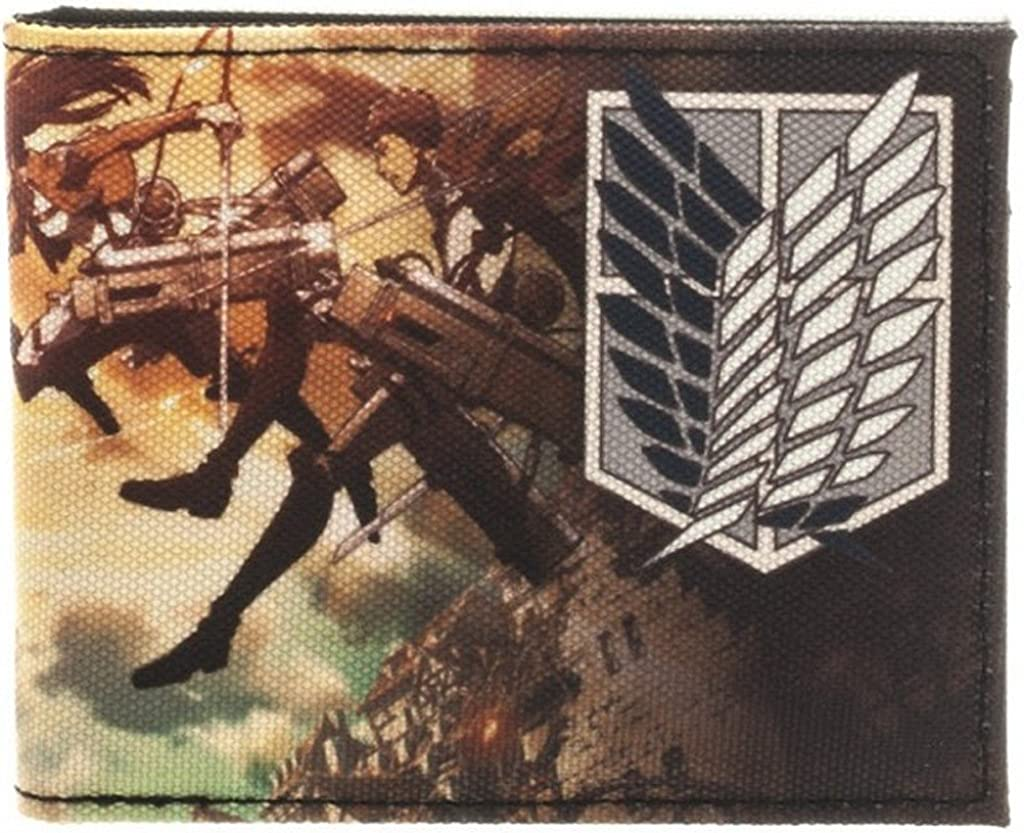 Attack On Titan Bi-Fold 4in 5 Wallet x 67% OFF of fixed price Product