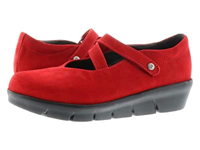 Wolky Sabik (Dark Red) Women