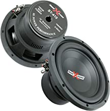 $99 » Sponsored Ad - 2X SoundXtreme ST-410 10 Inch 3000 Watts Peak Power Car Audio Subwoofer with DVC Power Dual Voice Coil Conf...