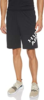 Under Armour Men's Sportstyle Cotton Wordmark Logo Short Shorts