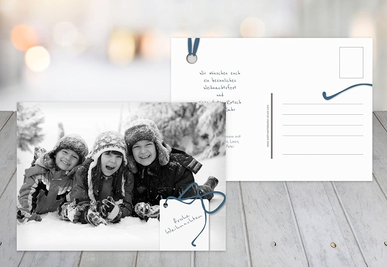 Kartenparadies Grußkarte Weihnachten Foto Grußkarte Geschenkanhänger, hochwertige Weihnachtsgrüße Weihnachtsgrüße Weihnachtsgrüße als Weihnachtskarte (Format  148x105 mm) Farbe  MattBlauDunkler B01N51OHCY | New Product 2019  5ae16b