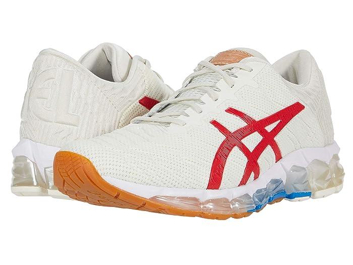 ASICS  GEL-Quantum 360 5 (Cream/Classic Red) Mens Running Shoes