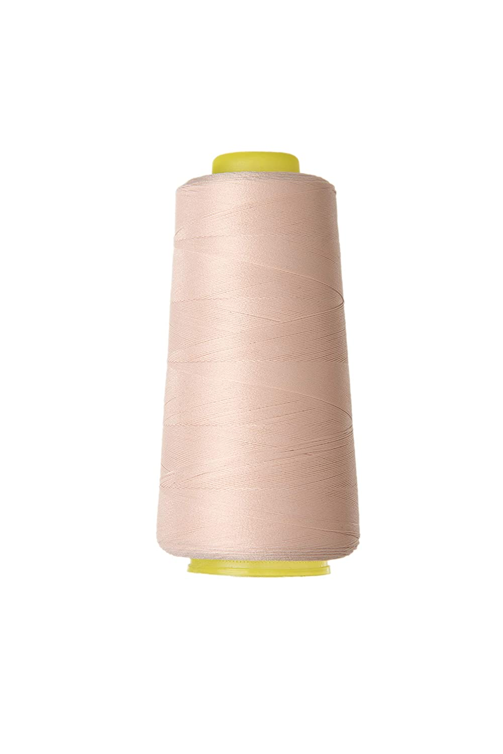 Nylon Stretch Thread 100D/2 Thread for Sewing Elastic and Knitted Fabric Underwear,Swimsuit,Yoga Wear,Cycling Wear (Flesh)