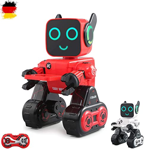 HSM Robot télécomhommedé télécomhommedé 2,4 GHz télécomhommedé dans Toutes Les Directions à Distance, réservoir, Demo, Fonctions sonores et Musique et Bien d'autres Fonctions sous Emballage d'origine