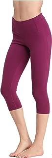 Yoga Pants Leggings Capris High-Waist Tummy Control for Women