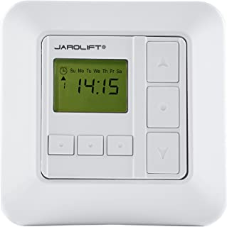 JAROLIFT Sevenlogic Comfort Timer per motori tapparelle, bianco