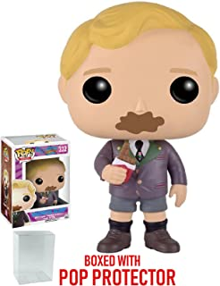 Funko Pop! Movies: Willy Wonka and the Chocolate Factory - Augustus Gloop Vinyl Figure (Bundled with Pop BOX PROTECTOR CASE)