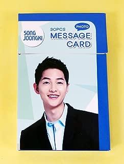SONG JOONG KI - PHOTO MESSAGE CARD PHOTOCARD 30pcs