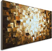 Seekland Textured Abstract Oil Paintings on Canvas Modern Art Decor Wall