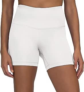 Yogalicious Ultra Soft Lightweight Hi Rise Shorts - High Waist Yoga Shorts