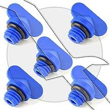 Mercruiser Manifold Engine Block Drain Plug Kit - Pack of 5 - 22-806608a02 & 18-4226