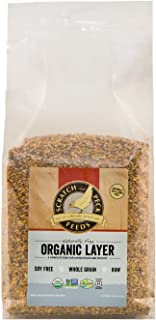 Scratch and Peck Feeds Naturally Free Organic Layer Feed for Chickens and Ducks - 10-lbs - Non-GMO Project Verified, Soy F...
