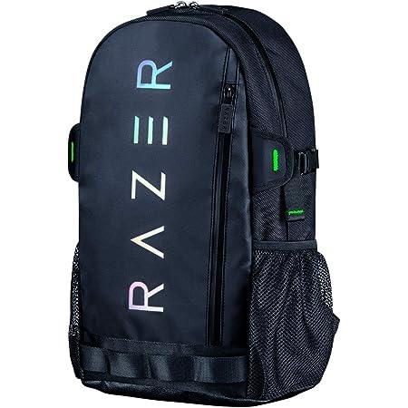 Razer Rogue Backpack V3 13inch - Chromatic Edition ゲーミング バックパック 13インチノートPC収納 防水加工 耐摩耗 ホログラフィックロゴ 【日本正規代理店保証品】 RC81-03630116-0000