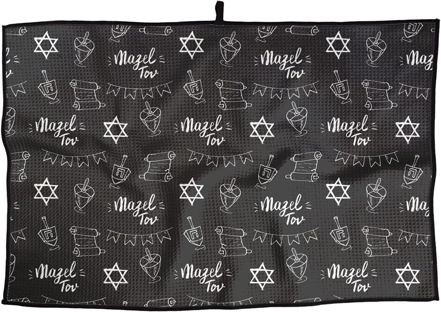 Soft Weekly update Superfine Golf Towel favorite Mazel Portabl Quick-Drying Pattern tov